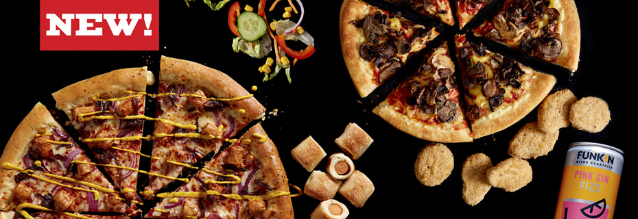 New Menu At Pizza Hut Stevenage Leisure Park